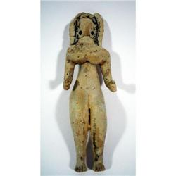 A SUPERB INDUS VALLEY CERAMIC SCULPTURE (Mehrgarh),