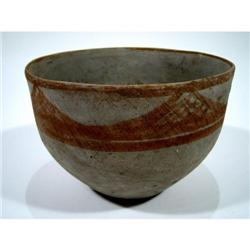 A SUPERB DJEITUN CERAMIC VESSEL,