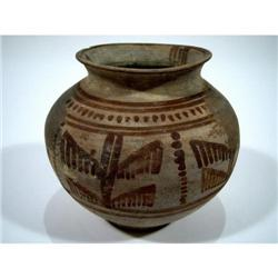 A SUPERB BACTRIAN CERAMIC VESSEL,
