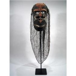 A YUAT RIVER CEREMONIAL MASK,