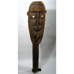 A SEPIK ANCESTOR SCULPTURE,