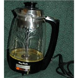 Proctor Silex Glass Lighted Coffee Percolator  #1740015