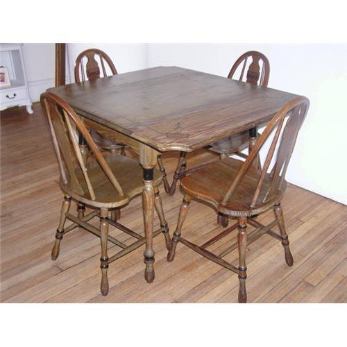 Antique dropleaf kitchen table by hoosier 1787783 workwithnaturefo