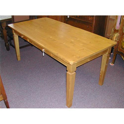 Farmhouse Kitchen Table With Drawers: Belgium Farm Table With Drawers #1743290
