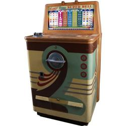 Keeney  Bonus Super Bell  Console Slot Machine