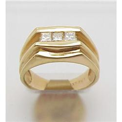 Man's diamond ring .45Ctw