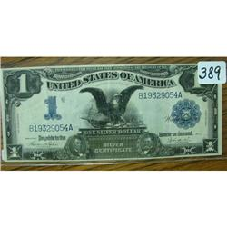 1899 $1.00 Large Silver Certificate  XF