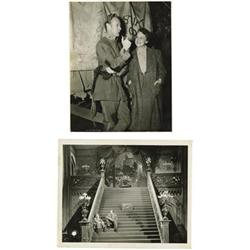 "Two Original Set Stills ""Gone with the Wind"""