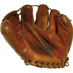 Jerry Mathers Leave It to Beaver Baseball Glove