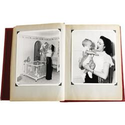Linda Darnell's Baby Book for Her Daughter Lola