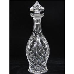 Waterford Decanter Signed
