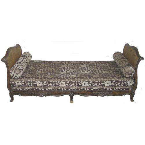 Antique Sofa Chaise Lounge: Antique Chaise Lounge Day Bed / Sofa #1818645