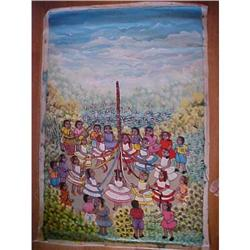 Haitian Painting  by FRANCOISE JEAN #1830507