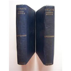 emerson essays first and second series From 1840-1844, emerson edited the dial with margaret fuller essays: first  series was published in 1841, followed by essays: second series in 1844, the  two.