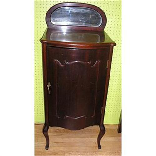 - Antique Mahogany Sheet Music Cabinet #1812634