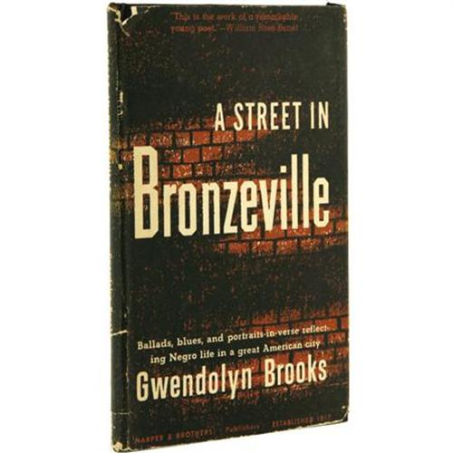 Gwendolyn Brooks a street in bronzeville