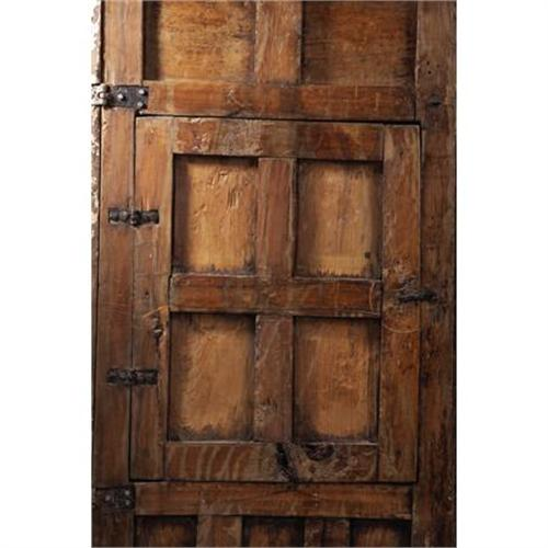 sc 1 st  iCollector.com & PAIR OF MATCHED CEDAR MEXICAN COLONIAL DOORS. Th