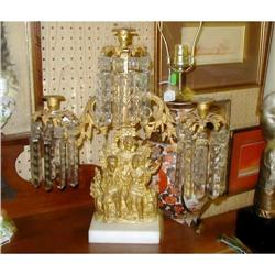Girondel Girondelle Candlestick with Crystals #1899025