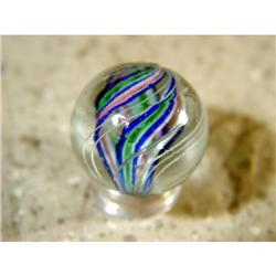 "BB Marbles: Divided Core Swirl 7/8"" 9.8"