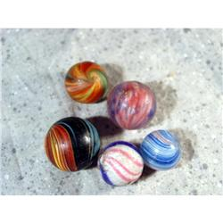 BB Marbles: Indian, Peppermint, 3 Onionskins