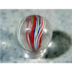 "BB Marbles: Divided Core Swirl 27/32"" 9.8"