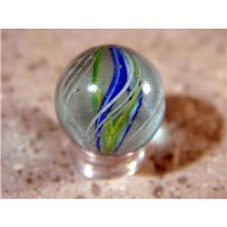 "BB Marbles: Divided Core Swirl 27/32"" 9.7"