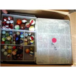 BB Marbles: About 450 Assorted Machine Mades