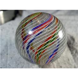 BB Marbles: 3-Layer Latticinio Swirl 2-3/8""