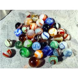 BB Marbles: 36 Slags and WV Swirls