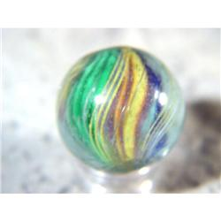 """BB Marbles: Divided Core Swirl 7/8"""" 9.8"""
