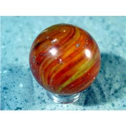 """BB Marbles: Onionskin with Mica 1-1/8"""" 7.9"""