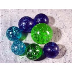 BB Marbles: 7 Mica Marbles