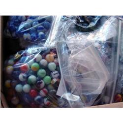BB Marbles: About 600 Varied Machine Mades