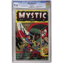 mystic comics 2nd series 1 timely 1944 cgc. Black Bedroom Furniture Sets. Home Design Ideas