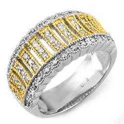 BRIDAL 0.65ctw ACA CERTIFIED DIAMOND ANNIVERSARY BAND