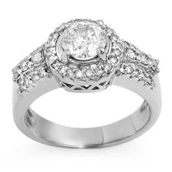 BRIDAL 1.65ctw ACA CERTIFIED DIAMOND ANNIVERSARY RING