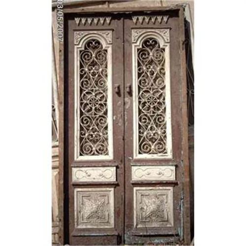sc 1 st  iCollector.com & Double Entrance Anique French Colonial Doors #1888995