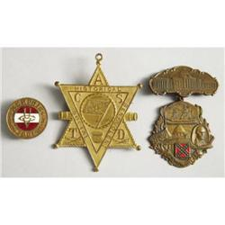 Three Confederate Reunion Medals - Confederate S