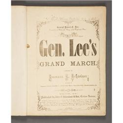 CONFEDERATE SHEET MUSIC IMPRINTS: COLLECTION 14