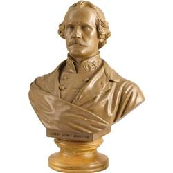 BUST ALBERT SIDNEY JOHNSTON BY VALENTINE
