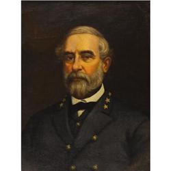 CONFEDERATE GEN. ROBERT E LEE IMPORTANT PORTRAIT
