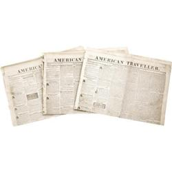 Early American Traveler Newspaper; 1835