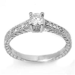 DIAMOND 0.50ctw SOLITAIRE ENGAGEMENT ANNIVERSARY RING