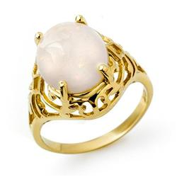 CERTIFIED QUALITY 2.55ctw OPAL LADIES RING YELLOW GOLD