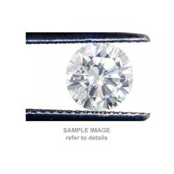 ACA CERTIFIED 0.75CT LOOSE DIAMOND ROUND CUT SI2/I-J