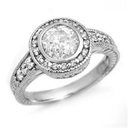 SOLITAIRE 1.35ct DIAMOND ENGAGEMENT ANNIVERSARY RING