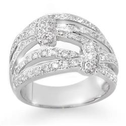 CERTIFIED 1.0ctw DIAMOND ANNIVERSARY BAND WHITE GOLD
