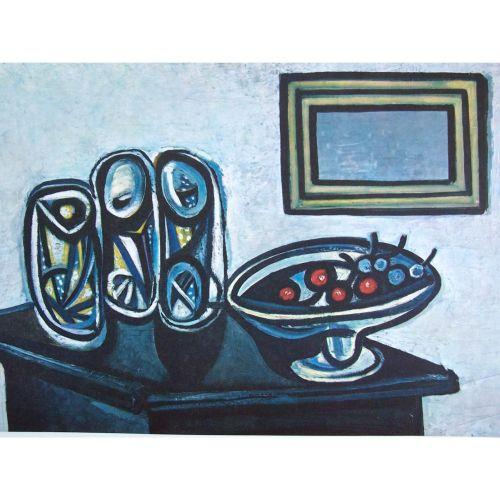 PABLO PICASSO Silkscreen Nature Morte 1943