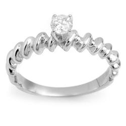 SOLITAIRE 0.25ctw ACA CERTIFIED DIAMOND RING 14KT GOLD