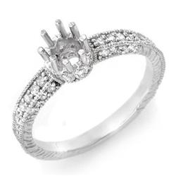 ANNIVERSARY 0.50ctw ACA CERTIFIED DIAMOND SEMI-RING